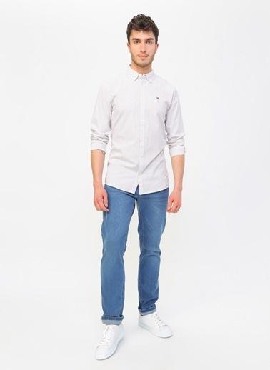 Tommy Hilfiger Denim Gömlek Beyaz